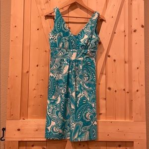 Jude Connally Tank Style Faux Wrap Dress Size S